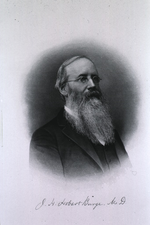 <p>Head and shoulders, long beard.</p>