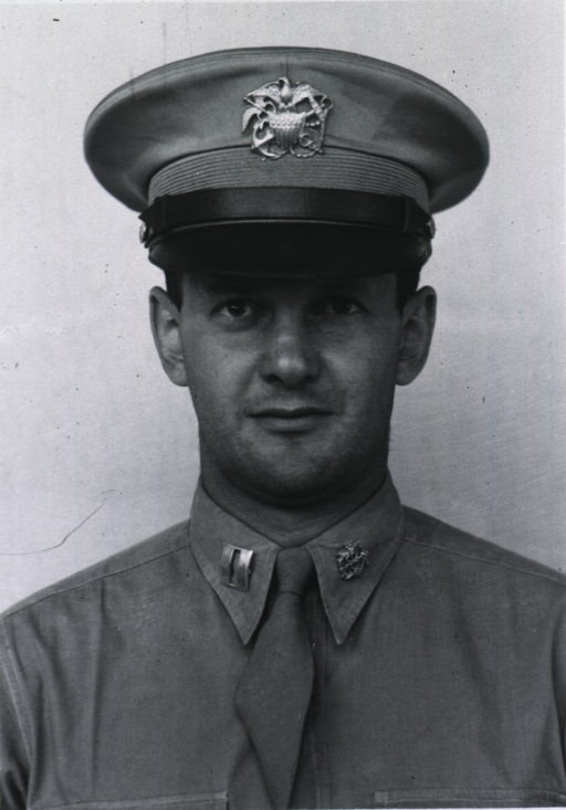 <p>Head and shoulders, full face, wearing U.S. Army uniform and cap with insignia of Capt. SGO.</p>