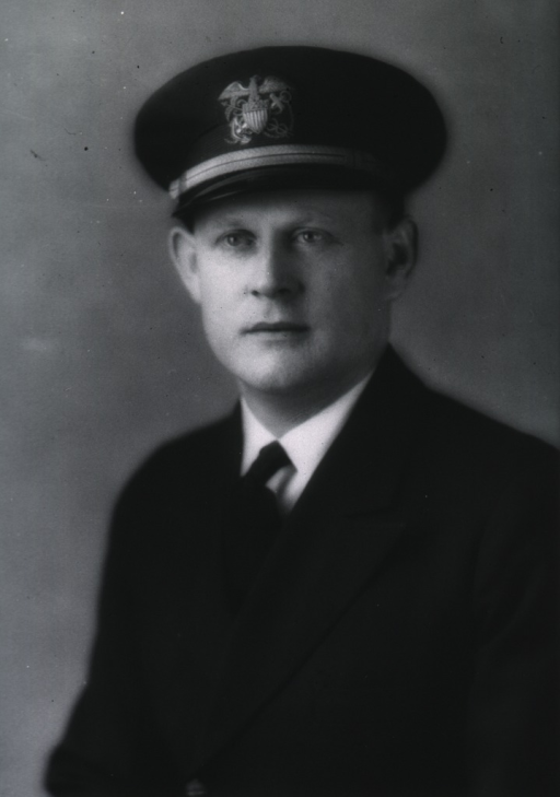 <p>Half-length, full face, wearing USPHS uniform and cap.</p>