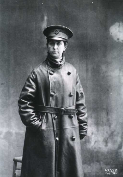 <p>Three-quarter length, standing, right pose, full face; wearing uniform coat and hat.</p>