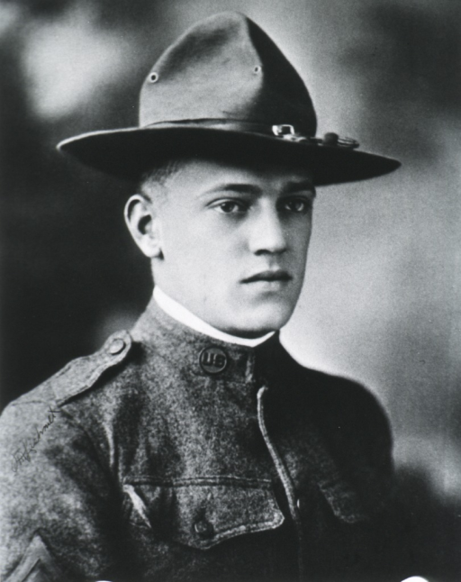<p>Head and shoulders,  right pose; wearing uniform and cap.</p>