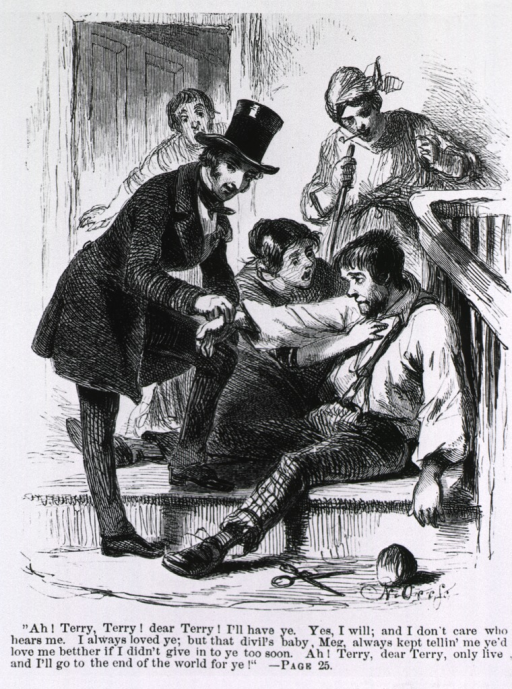 <p>A doctor gives first aid and takes the pulse of an attempted suicide by arsenic.</p>