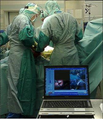 Setup in the Operating Theater.