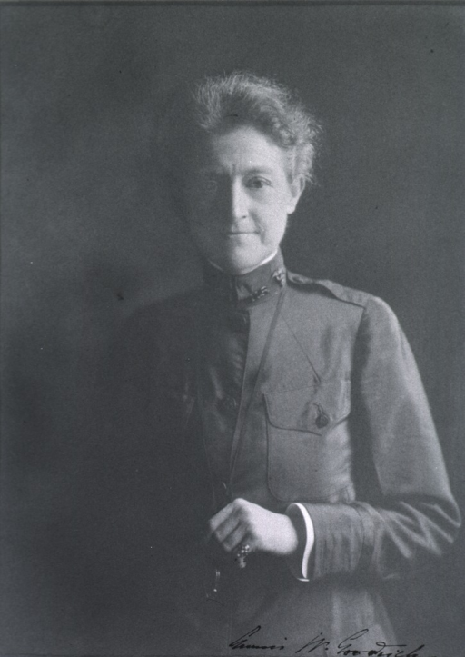 <p>Half-length, standing, front pose; wearing uniform.</p>