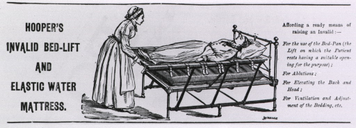 <p>A young woman lies on the bed-lift while on older woman makes the needed adjustments.</p>