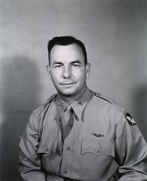 <p>Half-length, full face, wearing uniform (Colonel, U.S. Army Air Forces, M.C.)</p>