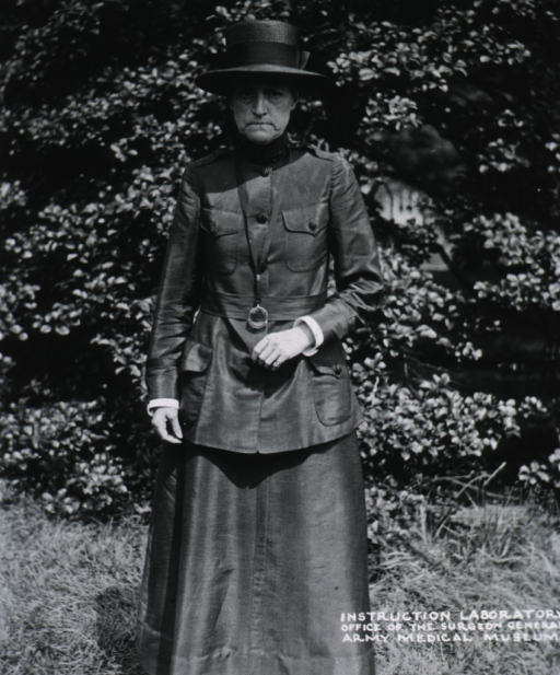 <p>Three-quarter length, standing, front pose; wearing uniform and straw hat.</p>