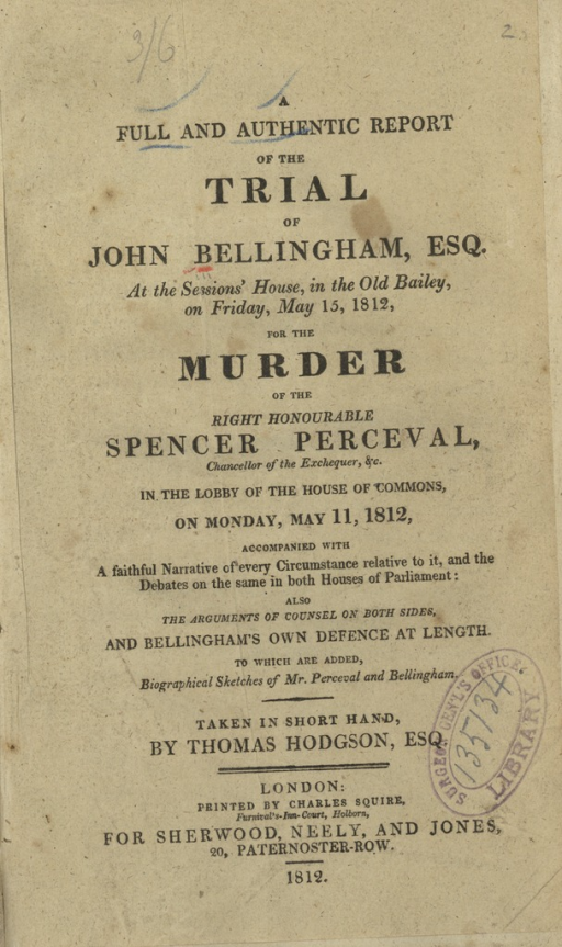 <p>Image of title page of a pamphlet.</p>