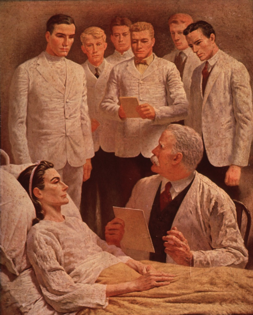 <p>The seven ages of a physician.</p>