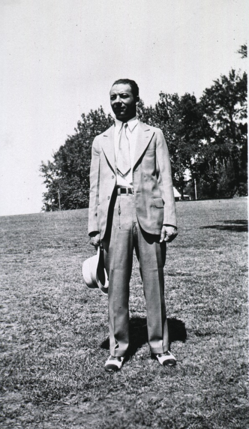 <p>Dr. Foote, an African American physician, is attending the Midwives Institute at Florida A&amp;M College in 1933.</p>
