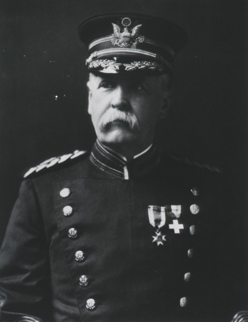 <p>Half-length, front pose, wearing full dress uniform and cap (Colonel).</p>