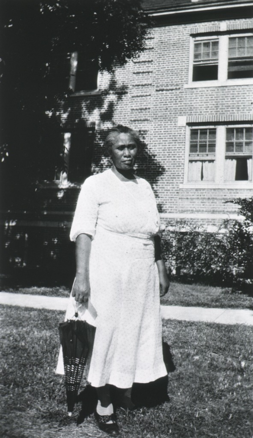<p>Showing the African American dean of women at the Midwives Institute at Florida A&amp;M College in 1933.</p>