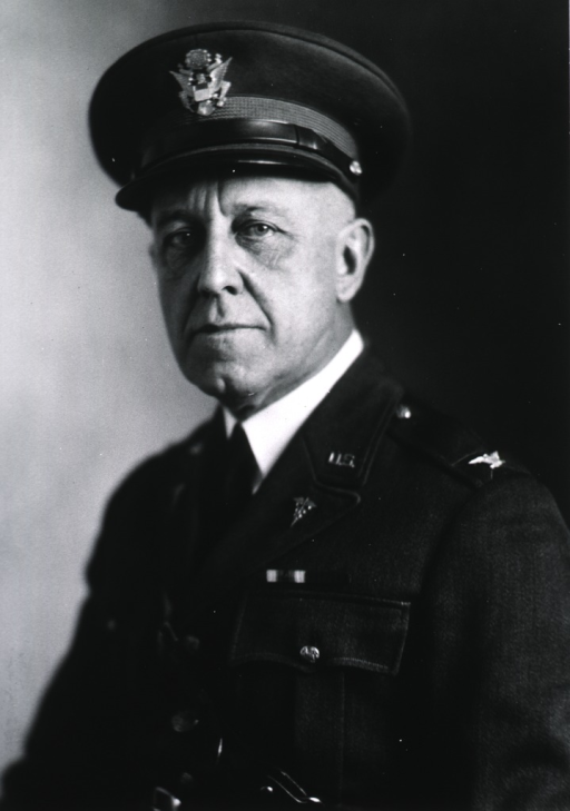 <p>Half-length, seated, full face, left pose, wearing uniform and cap (Colonel).</p>