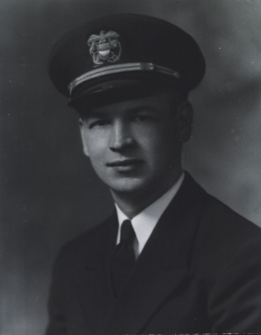 <p>Head and shoulders, full face, wearing USPHS uniform and cap.</p>
