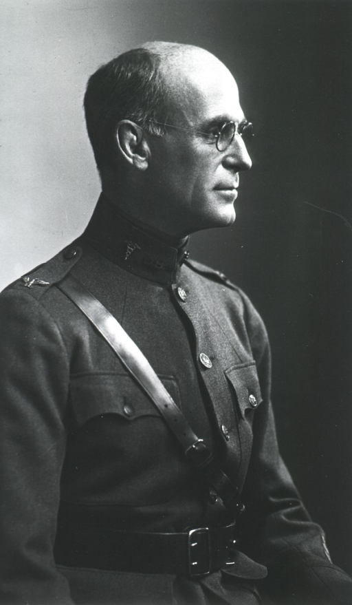 <p>Half length, seated, right profile; in uniform, Col. M.C.</p>