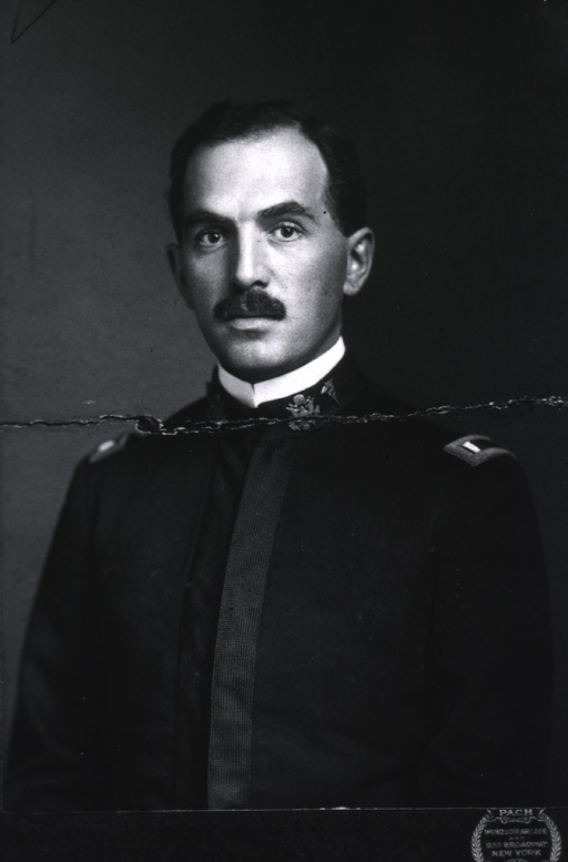 <p>Head and shoulders, full face, wearing uniform.</p>