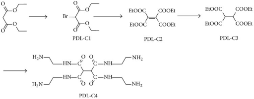Synthesis of PDL-C4.