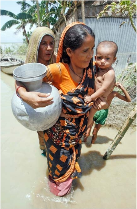 More than 50 million people in Bangladesh are believed to be chronically exposed to drinking water with arsenic concentrations exceeding the WHO standard of 10 μg/L.