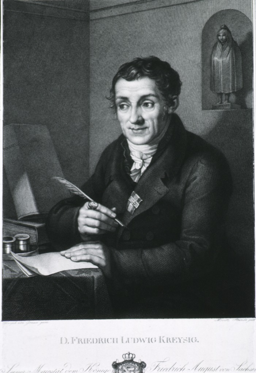 <p>Half-length, seated at desk, left pose, full face; holding quill pen.</p>
