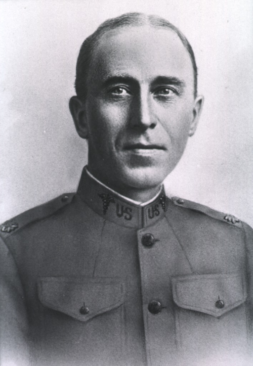 <p>Head and shoulders, front pose; in uniform of Major.</p>