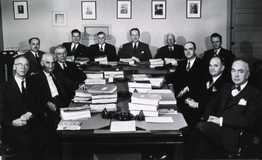 <p>Meeting of the National Cancer Advisory Council, Oct. 28, 1949.</p>