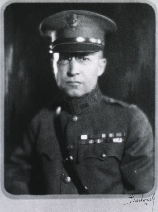 <p>Head and shoulders, front pose; in uniform, Col., M.C.</p>