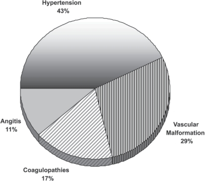 Causes of Hemorrhagic Stroke in Young People.
