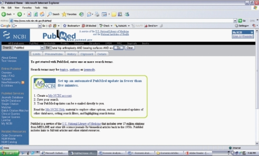 pub med search strategy A video demonstration of how to get the best out of searching pubmed finding the evidence 2 - turning search terms into a search strategy.