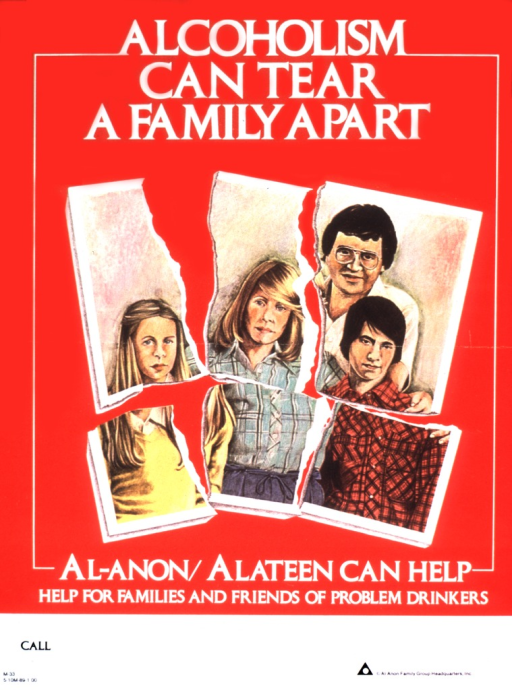<p>A family picture is torn into six pieces.</p>