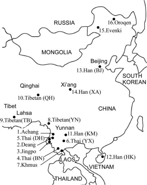 outline map of greater china indicating the geographic open i Beijing China 2014 outline map of greater china indicating the geographic locations of chinese ethnic populations s led in present