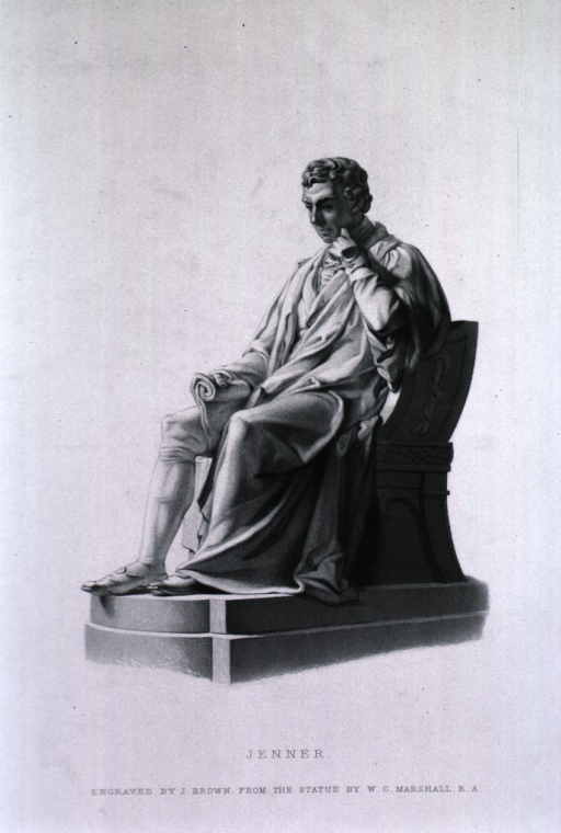 <p>Statue:  Full length, seated, left pose.</p>