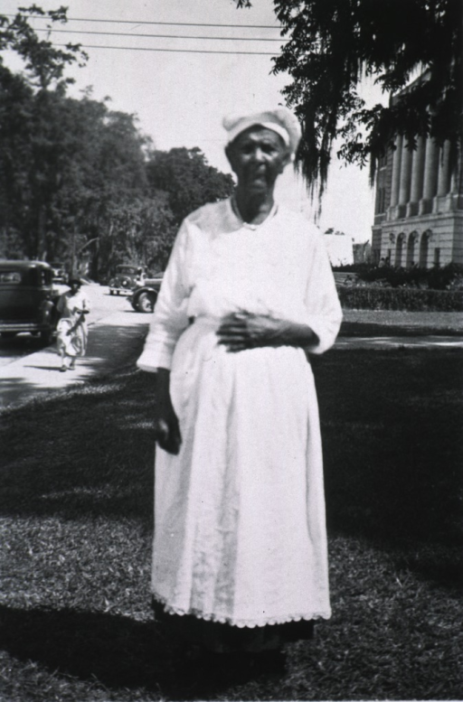 <p>A West Florida African American granny midwife, standing, full-length.</p>