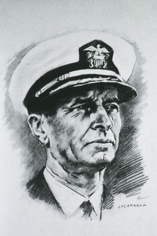 <p>Head and shoulders, right pose; wearing cap.</p>