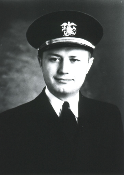 <p>Head and shoulders, full face, wearing cap with USPHS insignia.</p>