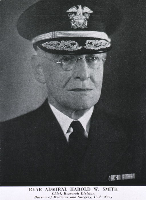 <p>Head and shoulders, full face, uniform (Rear Admiral).</p>