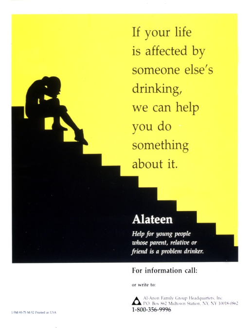 <p>A teenager, with head in hand, is sitting on the top of stairs.</p>
