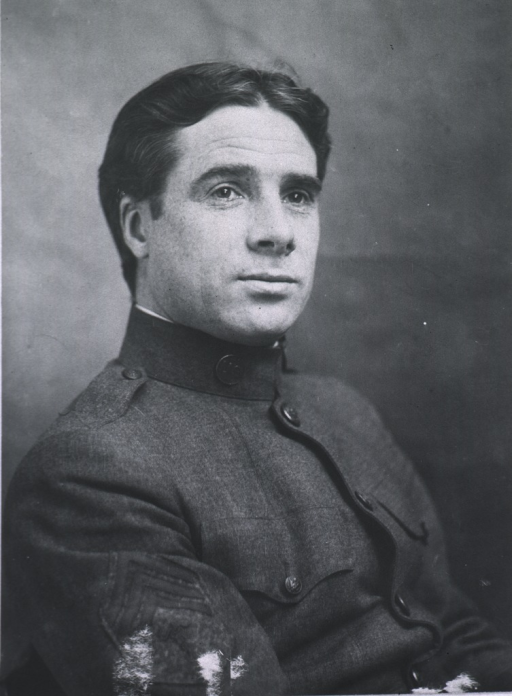 <p>Half-length, right pose, full face, wearing uniform.</p>