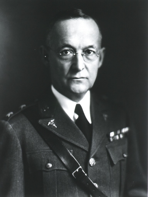 <p>Full face; in uniform of Maj. Gen., M.C.</p>