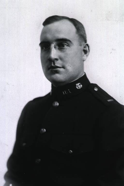 <p>Half-length, full face, body to left, wearing uniform of U.S. Army Officer.</p>