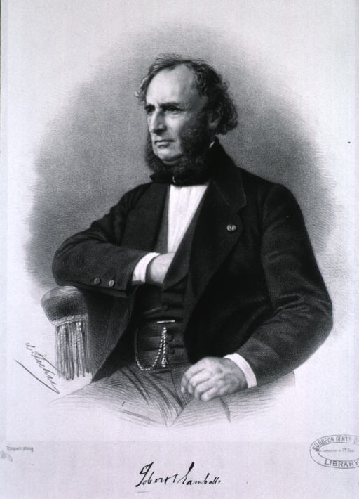 <p>Half-length, seated, left pose; one hand on knee and one in vest.</p>