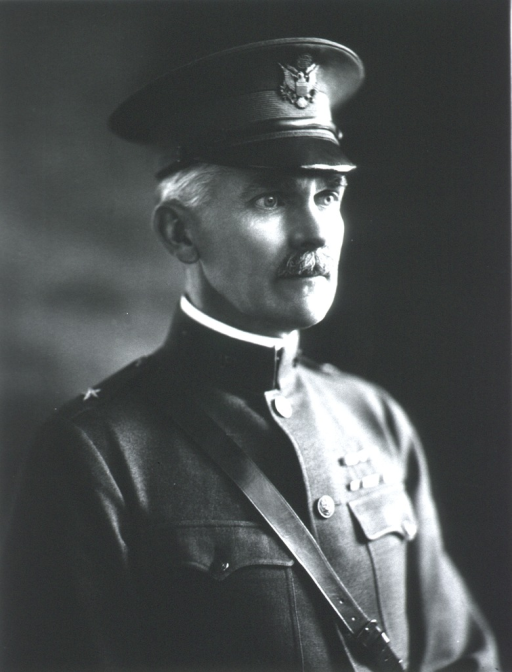 <p>Head and shoulders, right pose; wearing Medical Corps uniform (Colonel).</p>