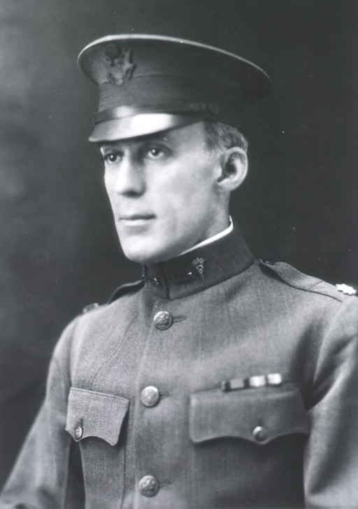 <p>Head and shoulders, full face, body to left, wearing U.S. Army uniform and cap.</p>