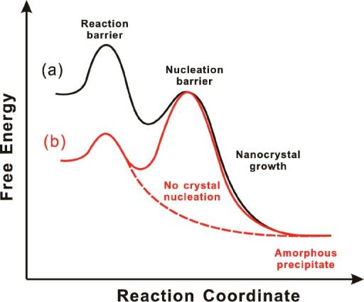 Reaction Coordinate Diagrams For Alternate Orderingof T Open I
