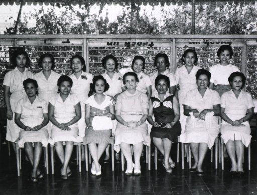 <p>Nurse supervisors gathered for a group photo.</p>