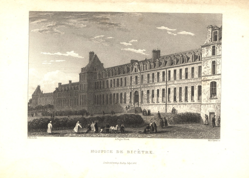 <p>View of the facʹade of the hospital.</p>