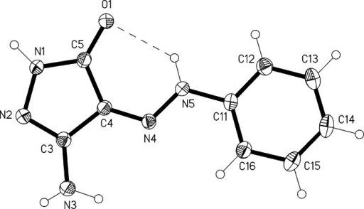 Molecular structure of the title compound. Ellipsoids represent 50% probability levels.
