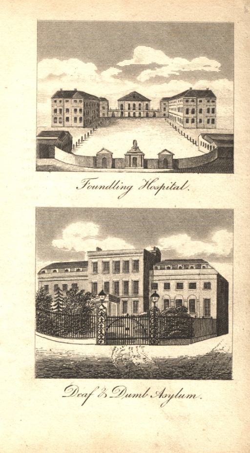 <p>Views of the facʹades of the buildings.</p>