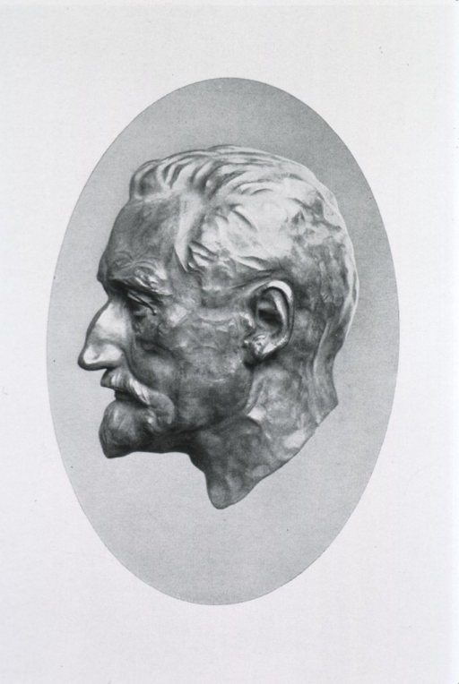 <p>Bust, in oval, full face.</p>