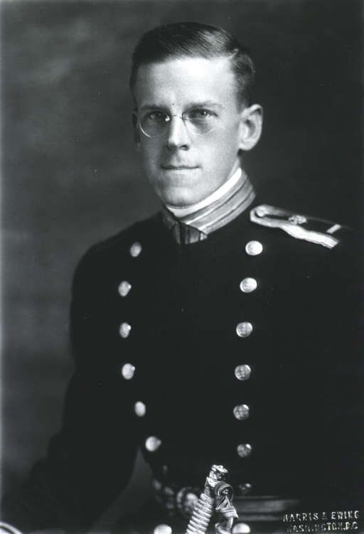 <p>Half-length, left pose, full face, wearing USPHS dress uniform.</p>