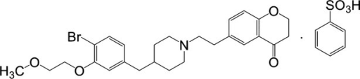 Chemical structure of DSP-1053.
